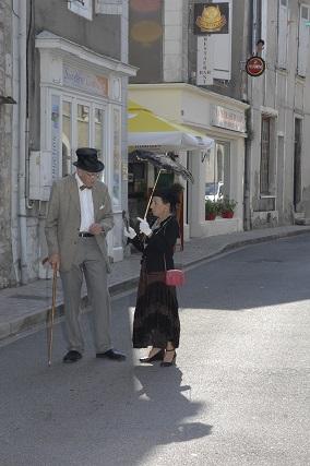 Mme Minvielle et le Dr Labat