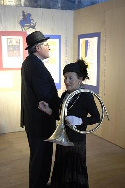 acteur Abel Claverie et sa petite fille