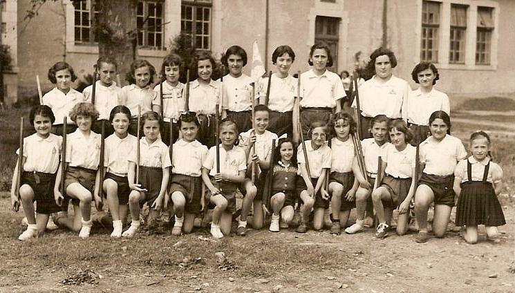 "Les ""gazelles"" - Lendits, 1952"