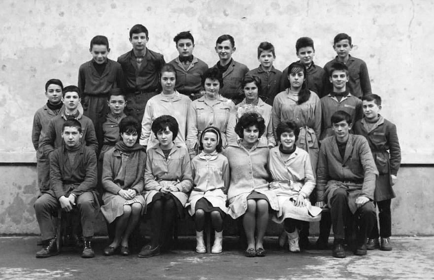 1962-1963 : classe de 4e, collège de Sauveterre