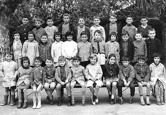 1962-1963 : école de Sauveterre, classe de Mme Hargous