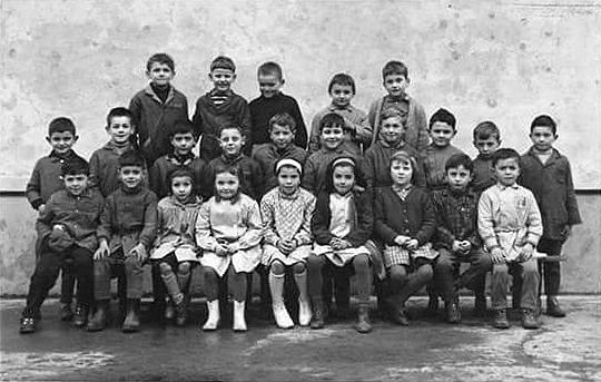 1963-1964 : école de Sauveterre, classe de Mme Cauhapé