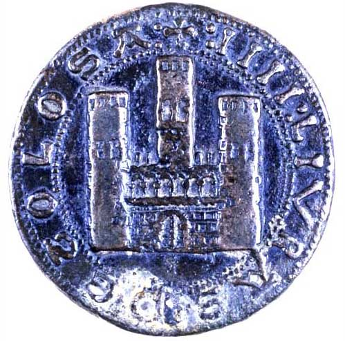 Toulouse 1239 poids monetiforme quatre livres inv 19362 v cliche daniel molinier copie 2